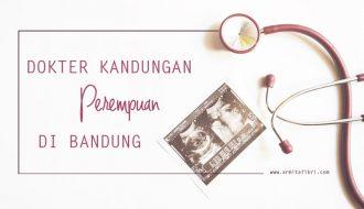 dokter kandungan perempuan di Bandung
