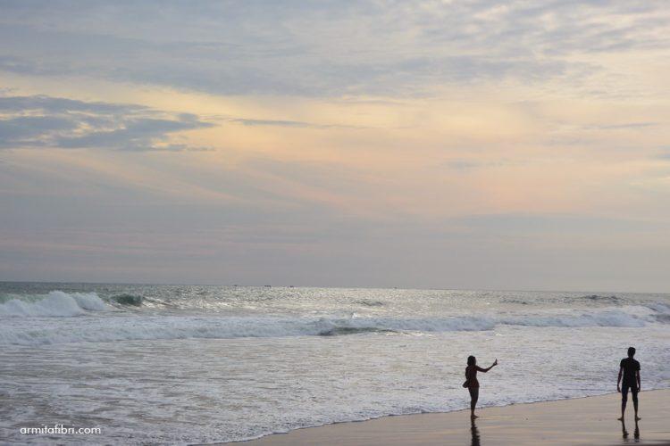 Senja di Pantai Jetis Purworejo