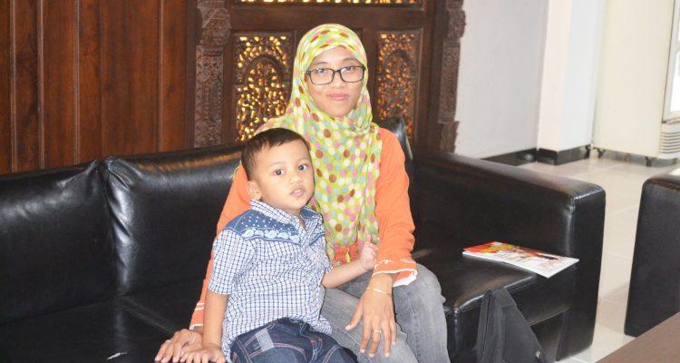 Gambar Ibu dan Anak