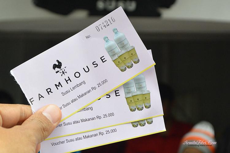 Harta tiket masuk Farm House Lembang