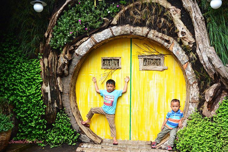 Foto gambar Rumah Hobbit