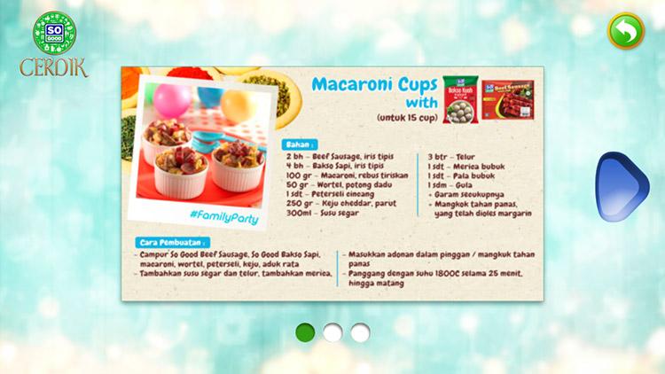 resep makaroni cups