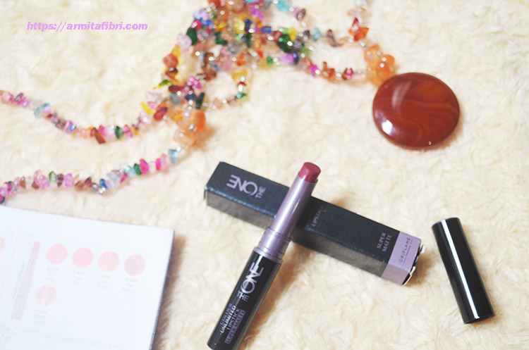 Review Lipstik Oriflame The One Super Matte Endless Cherry