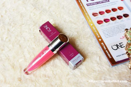 Review Lipstik The One dari Oriflame