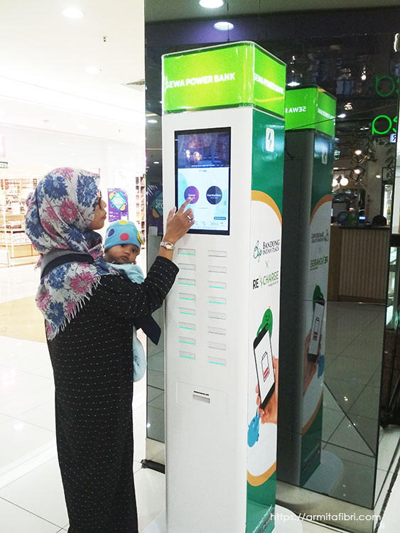 Sewa Powerbank ReCharge di Bandung
