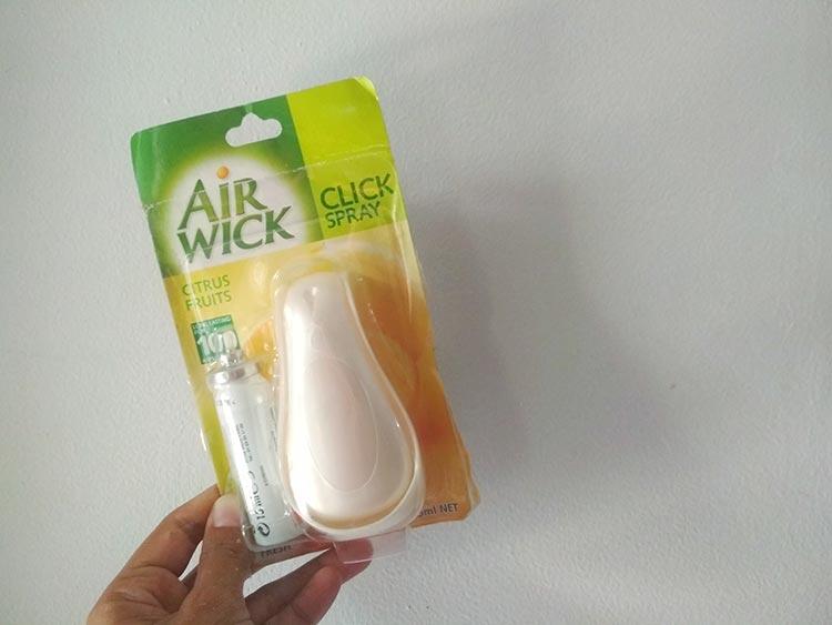 Airwick Clickspray 2 in 1, Pengharum Ruangan Berkualitas
