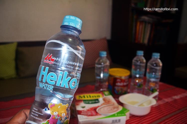 Review Heiko+ Water dari Morinaga