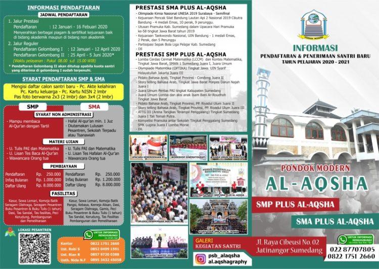 Biaya Masuk Al Aqsha Jatinangor