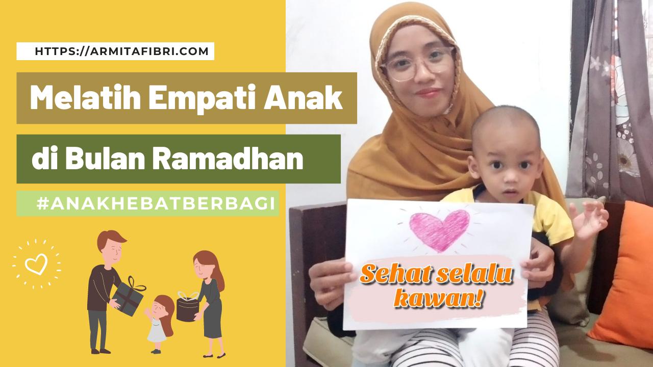 Melatih empati anak