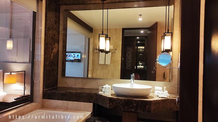 hotel bandung kamar mandi